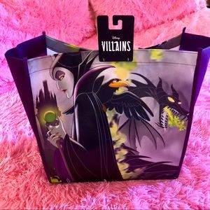 DISNEY VILLAIN MALEFICENT GROCERY SHOPPING TOTE